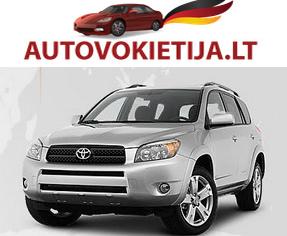 Automobiliai iš Amerikos bei Vokietijos